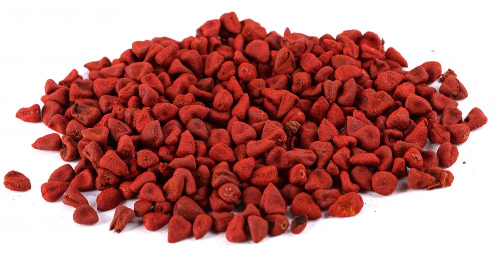 Achiote seeds can be used to shade orange food coloring.