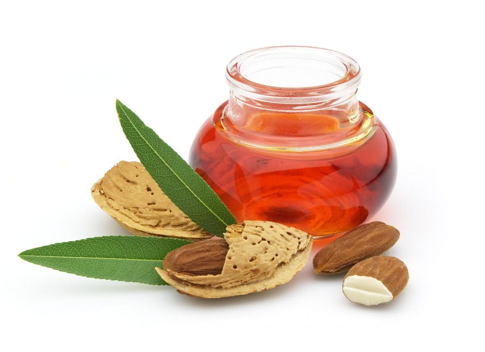 Almonds can be processed into essential oils.