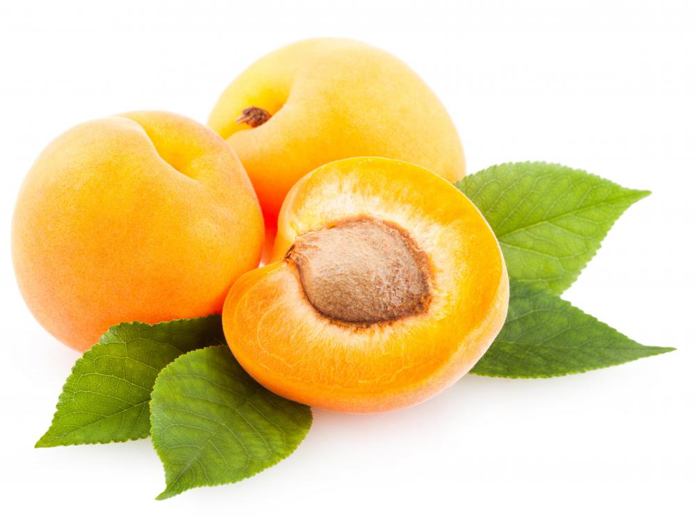 Juicy fruits like apricots can be used to make nectar.
