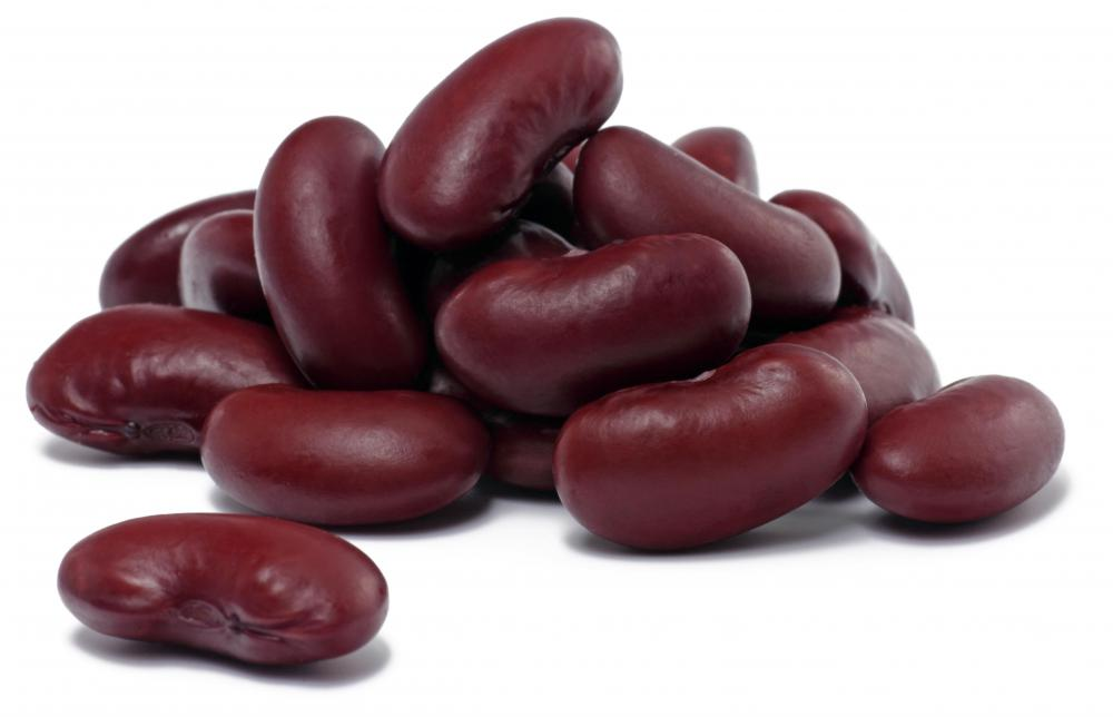 Kidney beans, one of the ingredients in stoup.