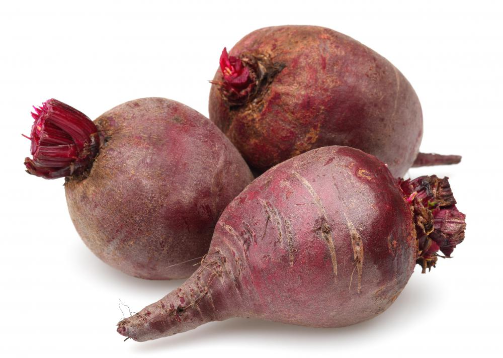 Beets are often considered root vegetables.