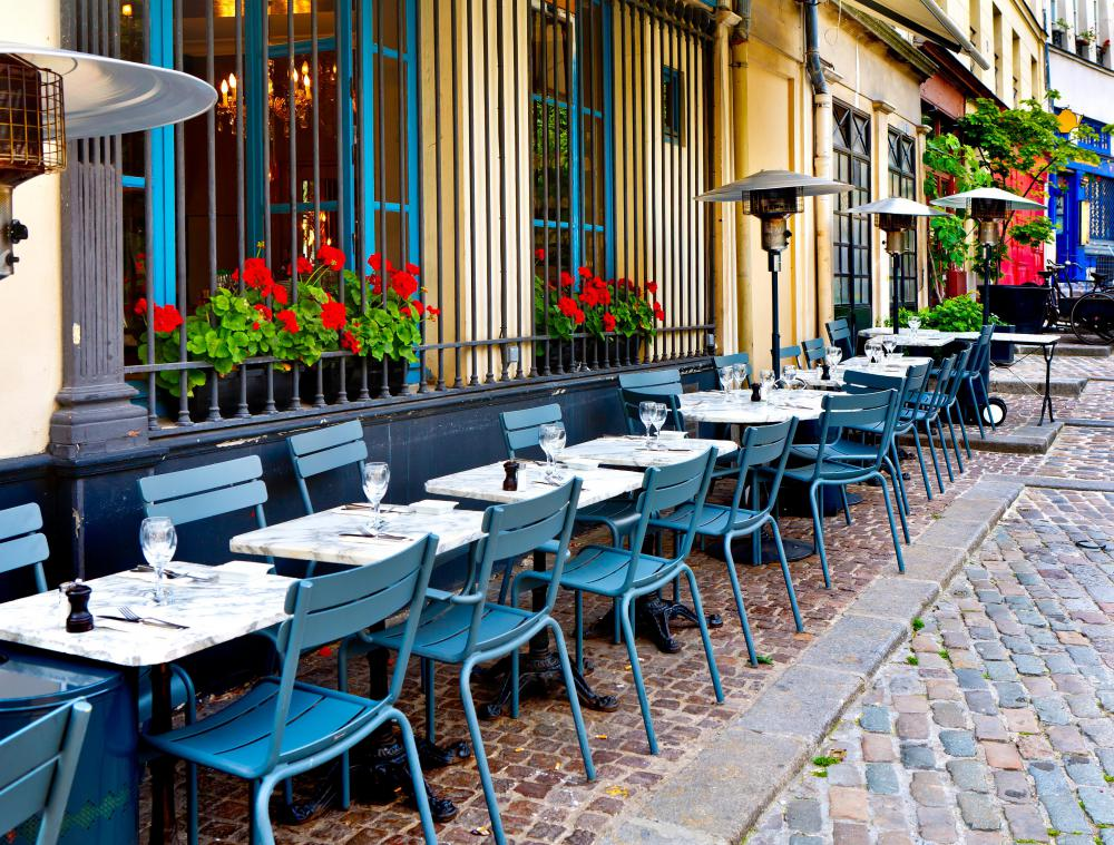 Bistros originated in France.