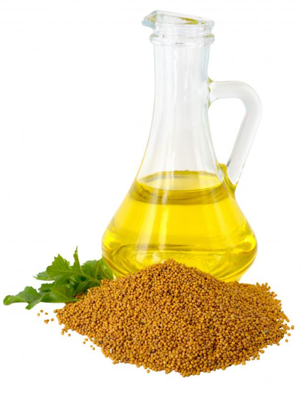 Mustard oil is derived from mustard seed.