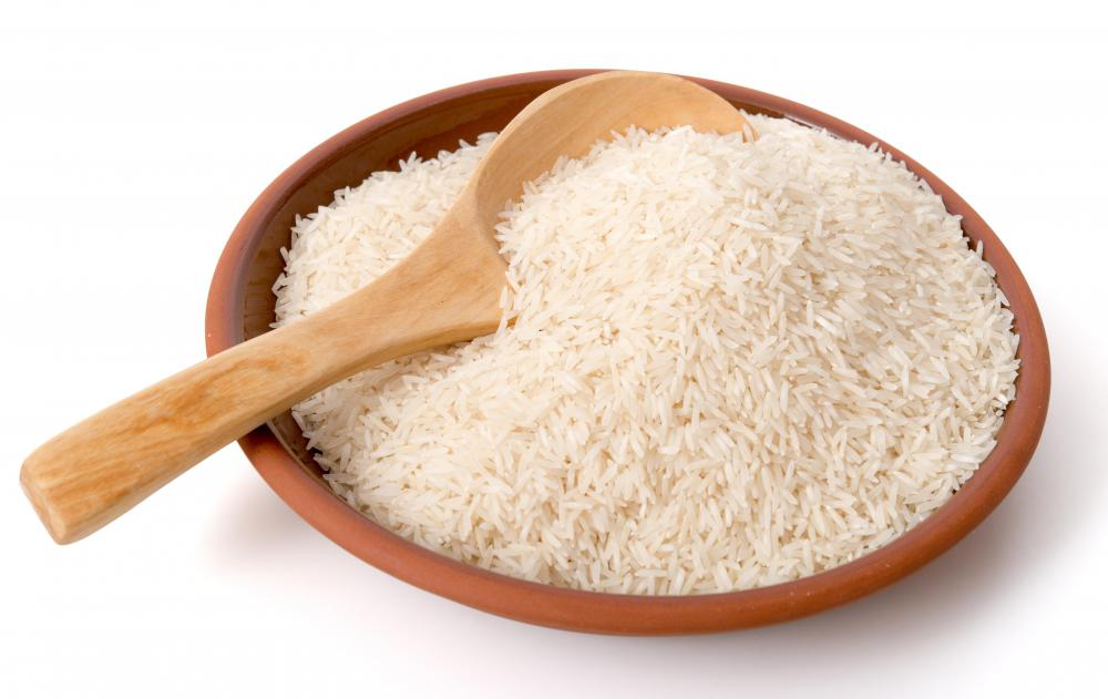 White rice is an example of simple carbohydrates.