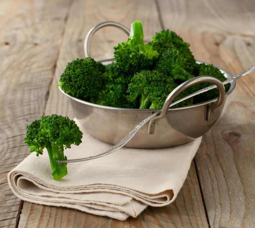 Broccoli and cauliflower are cruciferous vegetables that are sometimes combined in a salad or casserole.