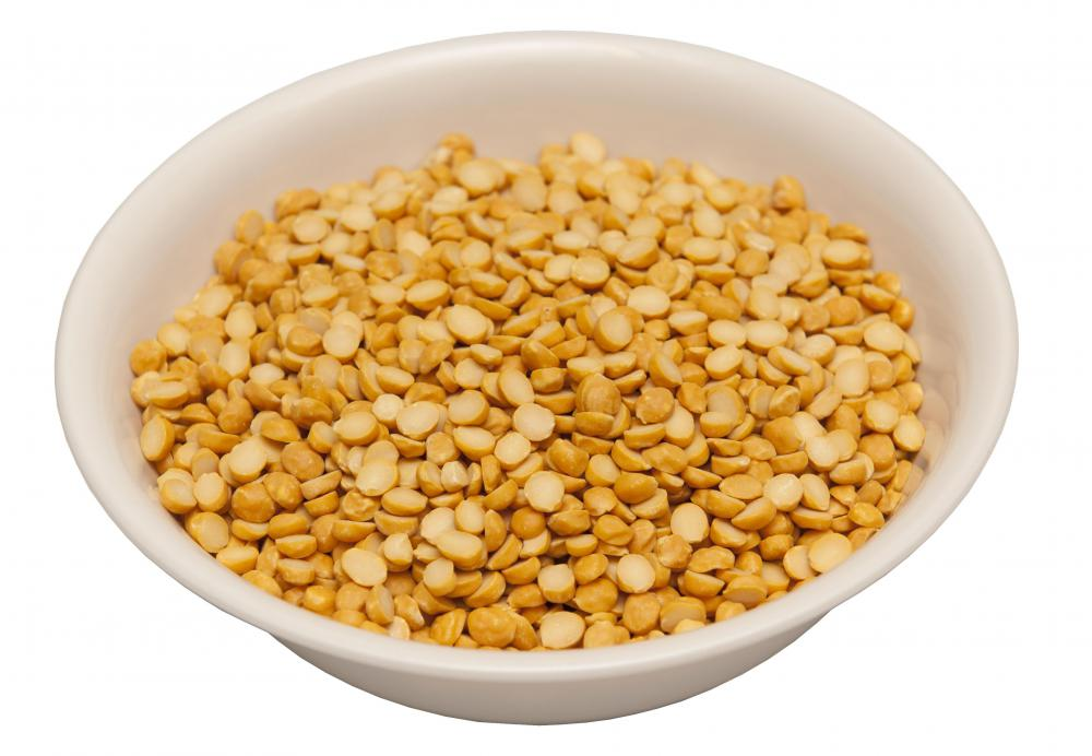 Lentils are legumes and are related to beans and peanuts.