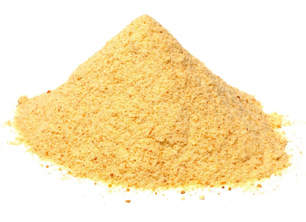 Breadcrumbs are a main ingredient used to make stuffing.