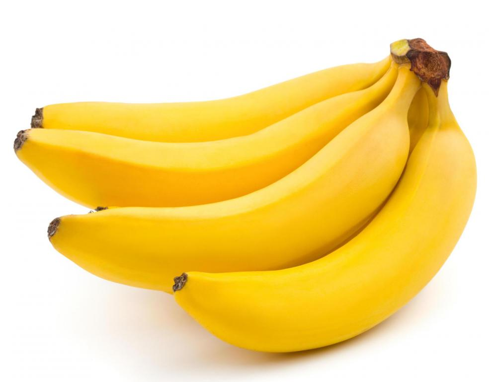 Bananas, which can be dehydrated.