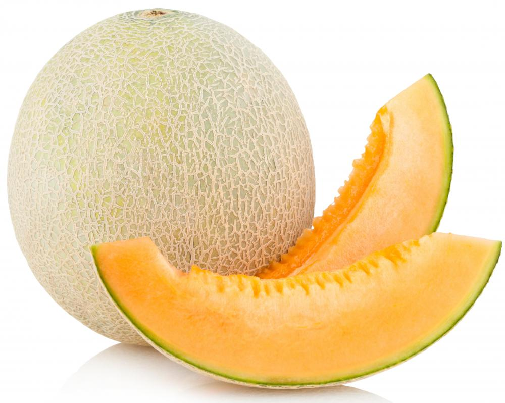 Cantaloupe, which is often included in agua fresca.