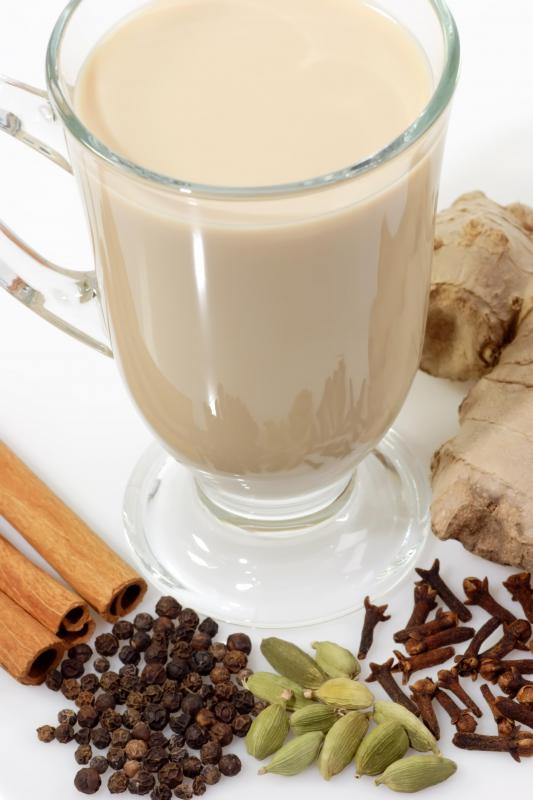 Chai tea, which is made with cloves.