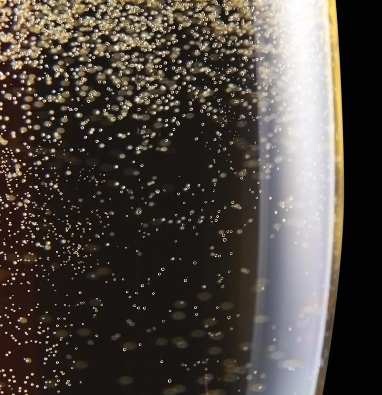 While champagne is a sparkling wine, not all sparking wines are considered to be champagne.