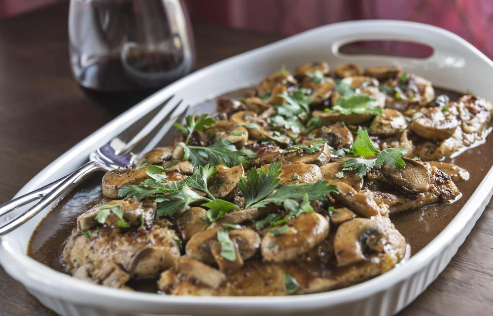 Chicken Marsala and other hearty Italian dishes call for button mushrooms.