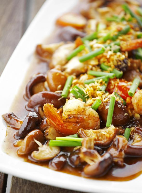 In many cuisines, dried seafood is used in addition to fresh for a specific taste profile.