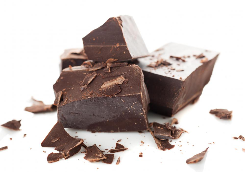 Baking chocolate is often the bittersweet variety.