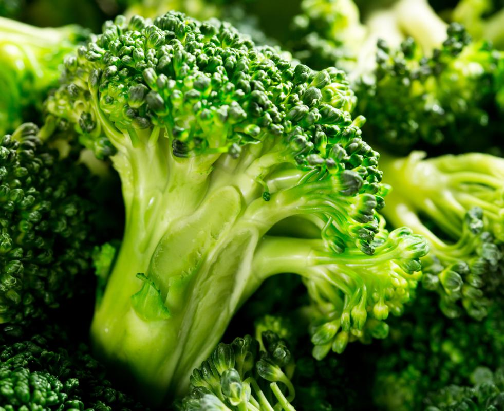Broccoflower has the green color and sweetness of broccoli.