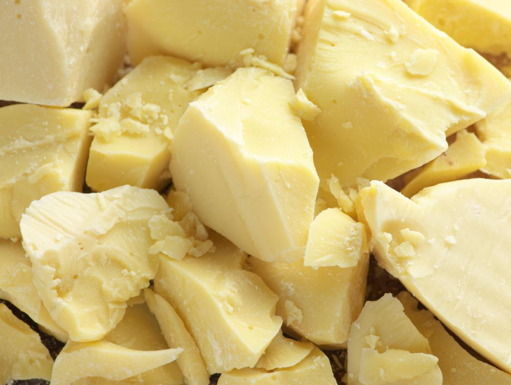 Cocoa butter is used to make white chocolate.