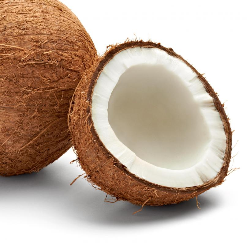 Coconut is used as flavoring for macaroons.