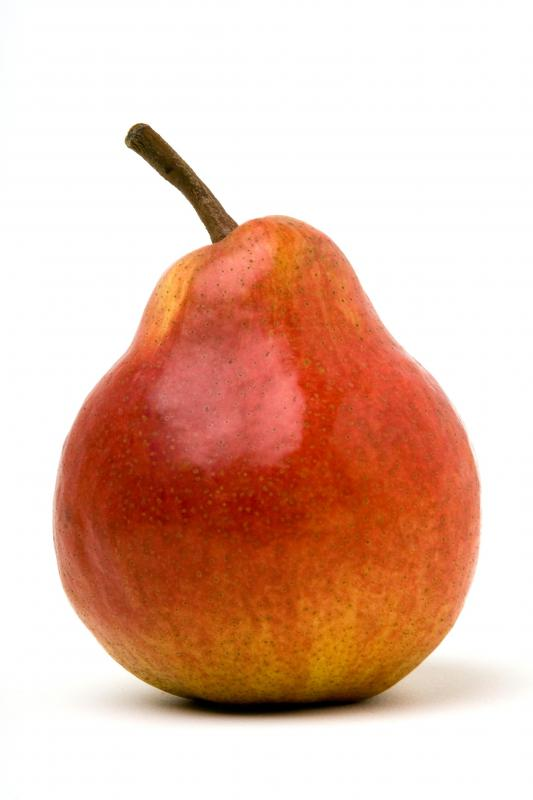 Pears are often pureed to be used as a dessert.