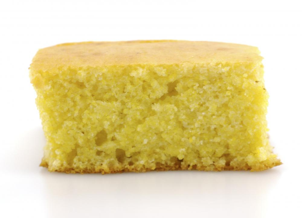 Cornbread, originating in the south, is considered an American food.
