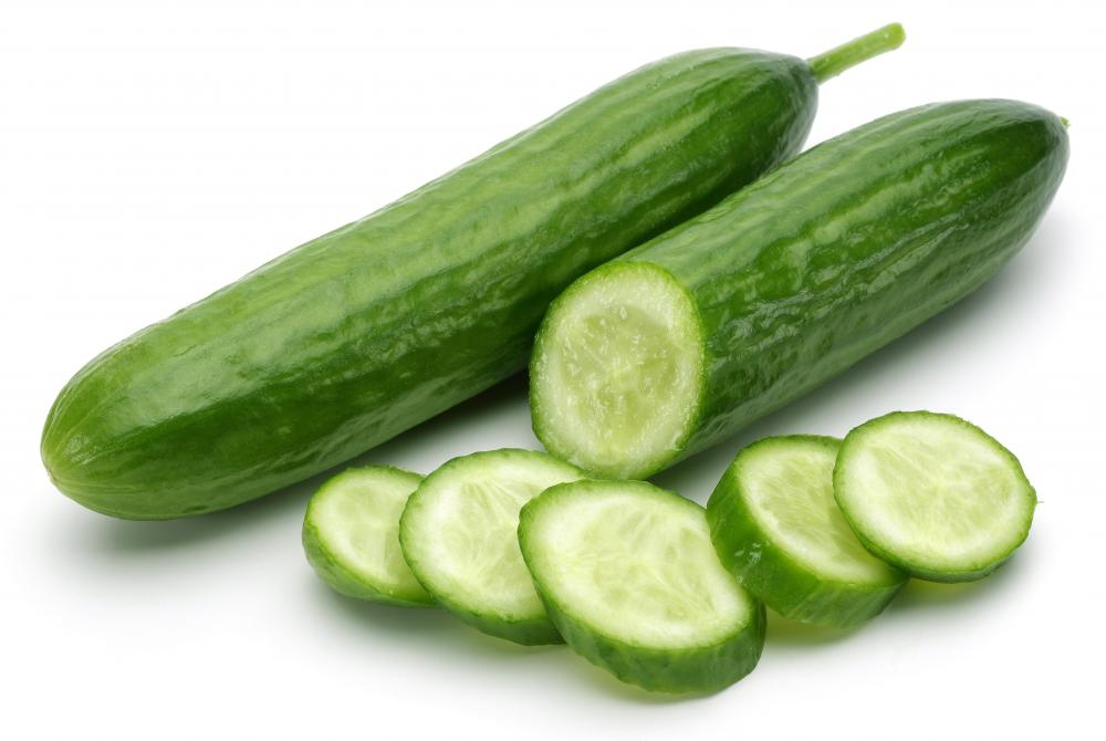 Fresh cucumbers play a key role in tzatziki sauce.