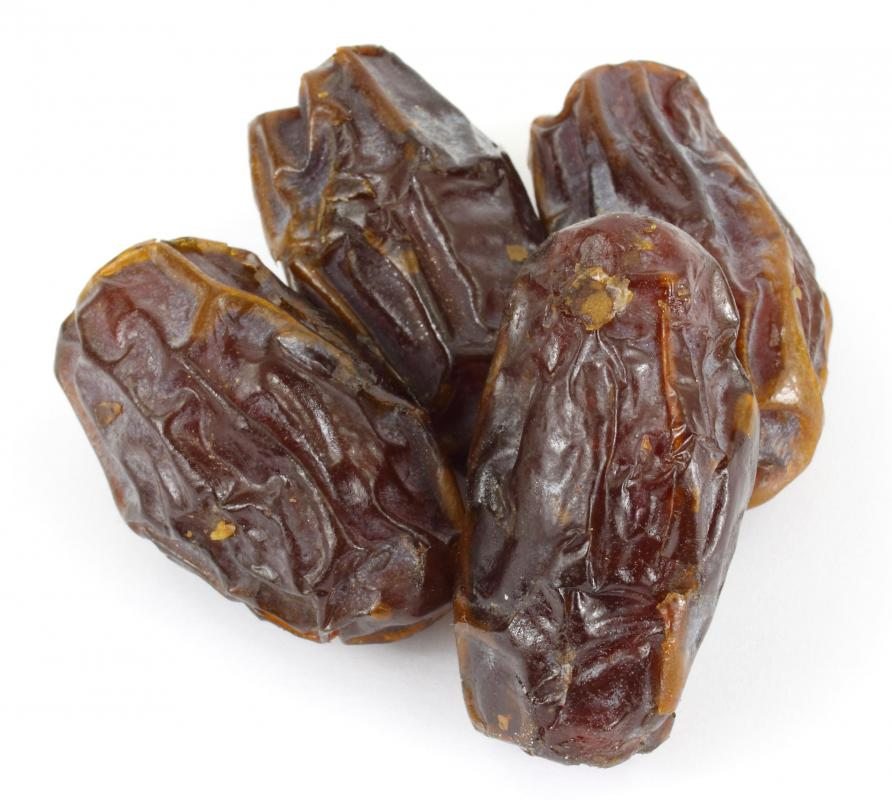 Dates, which can be used to make date sugar.