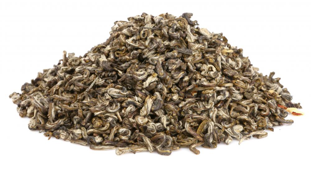 Jasmine tea is flavored with jasmine flowers for a distinctive taste and scent.