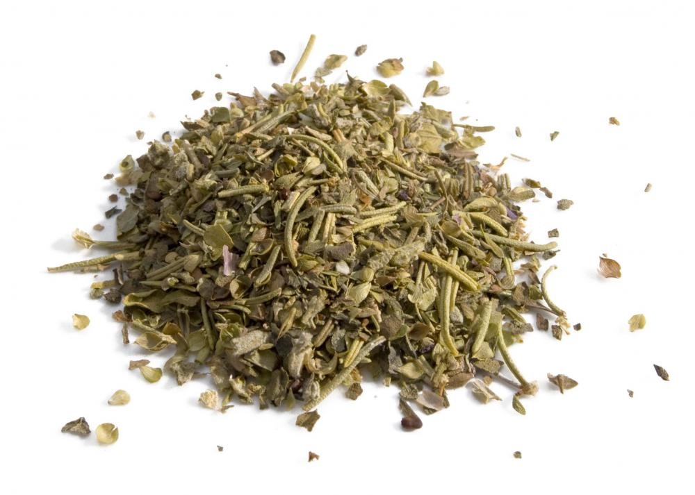 Dried marjoram are often included in herbes de Provence.