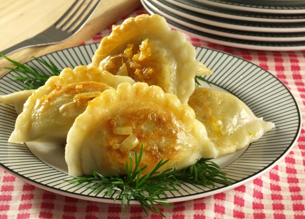 Dumplings can be made using mung bean flour.
