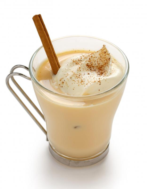 Eggnog is the most common Christmas drink.