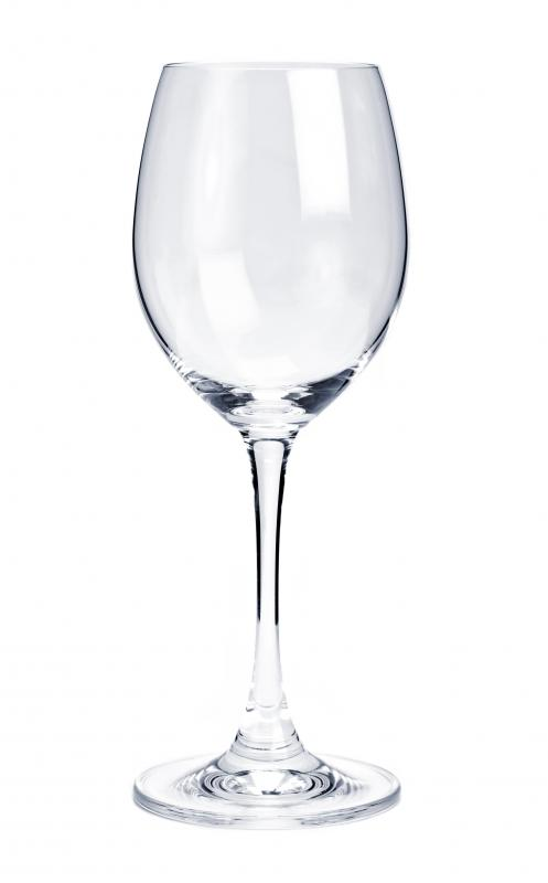 A wine glass.