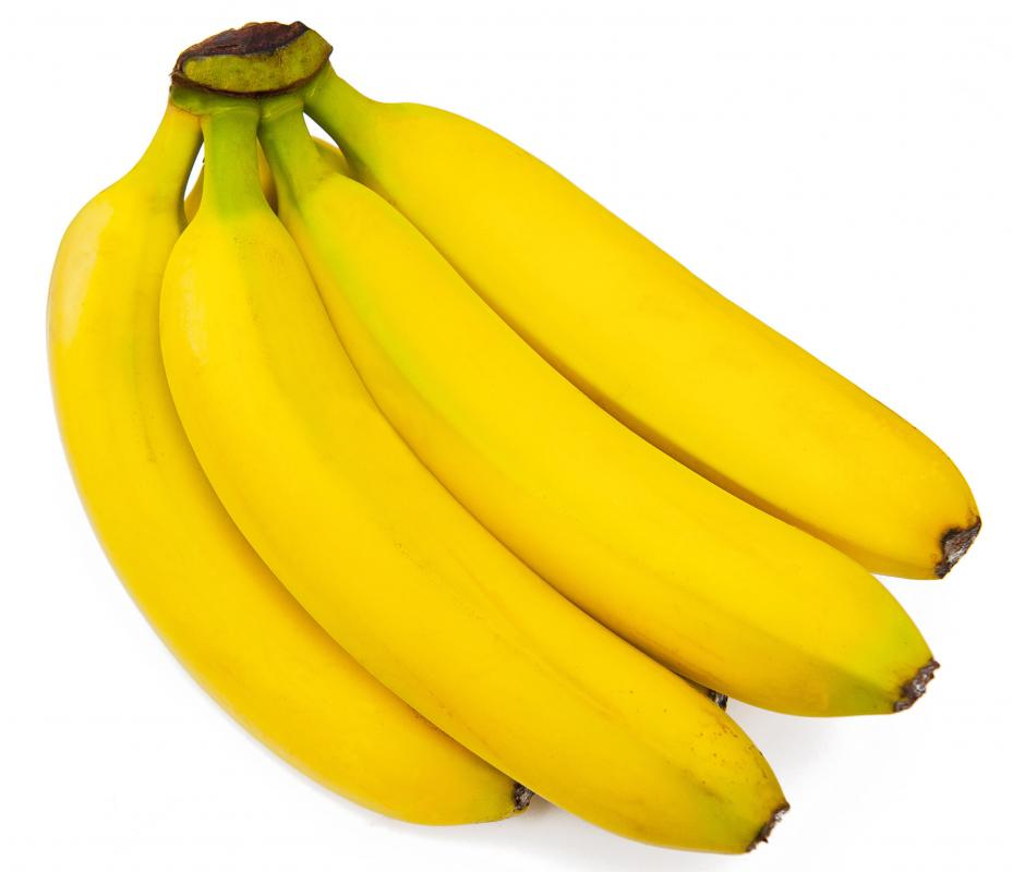 Bananas, which can be used to make smoothies.