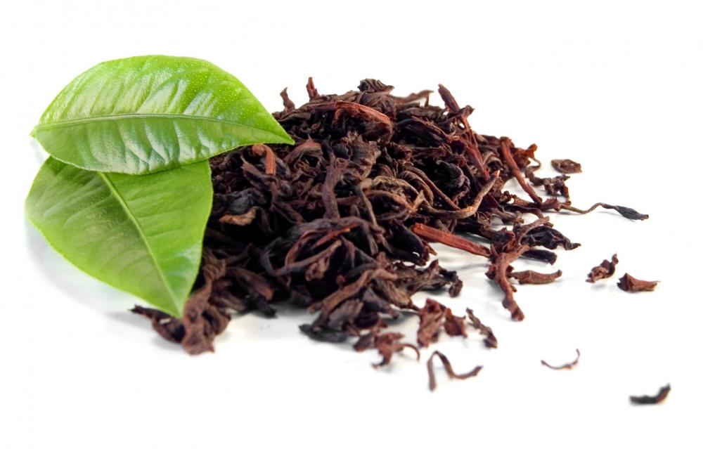 Tea leaves contain tannin.