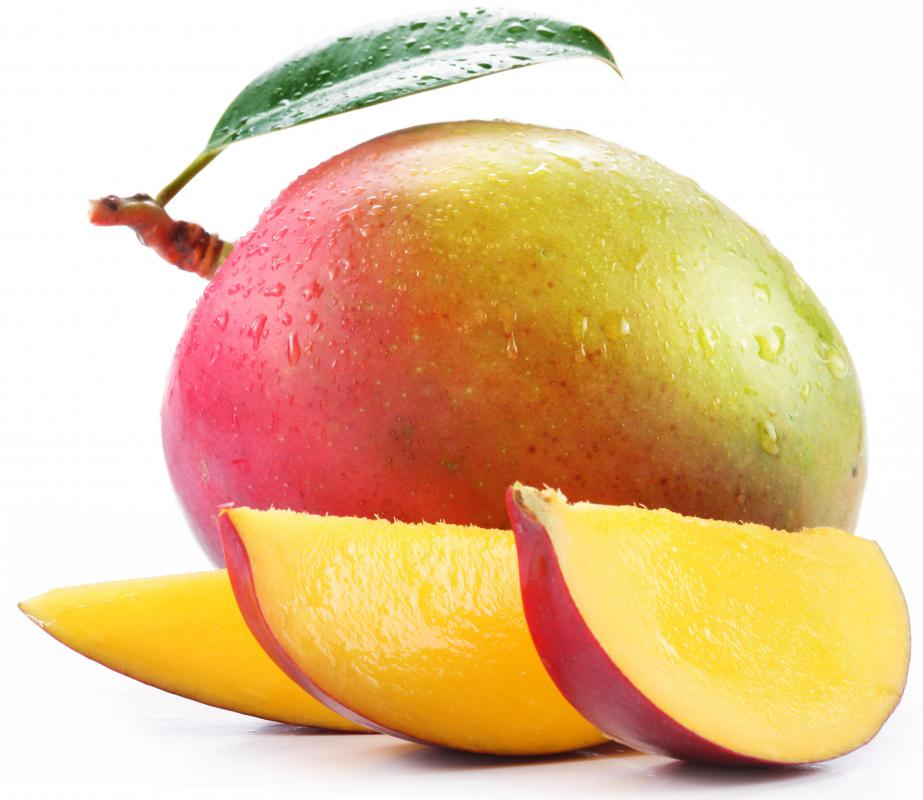 Mango is commonly used in agua fresca.