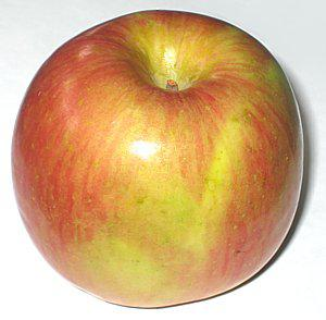 A fuji apple is a particularly sweet and crisp eating apple.