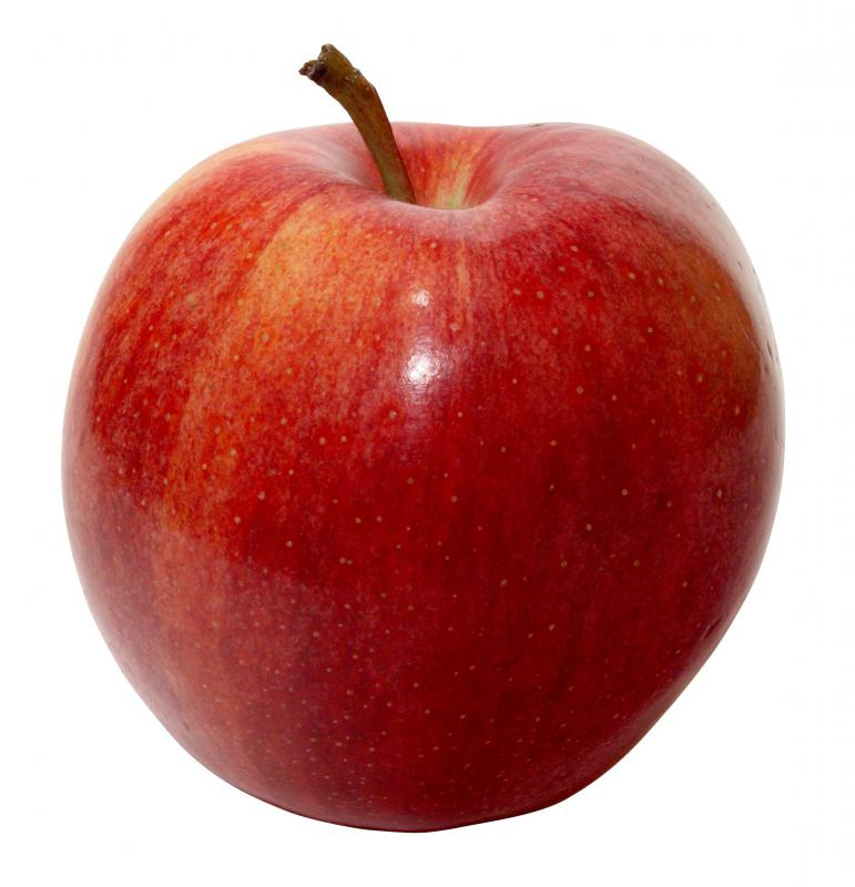 Gala apples are often eaten, but usually aren't used for cooking.