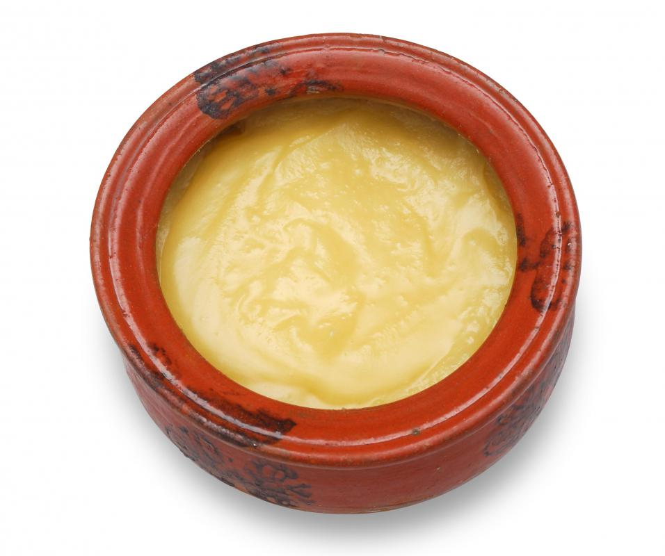 Ghee, which is often served with idli.