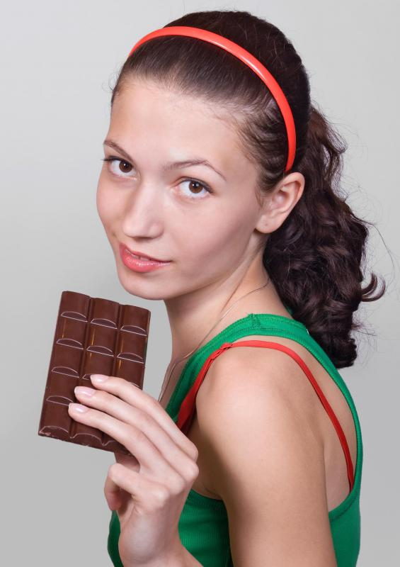 Bittersweet chocolate contains theobromine, which has aphrodisiac properties.