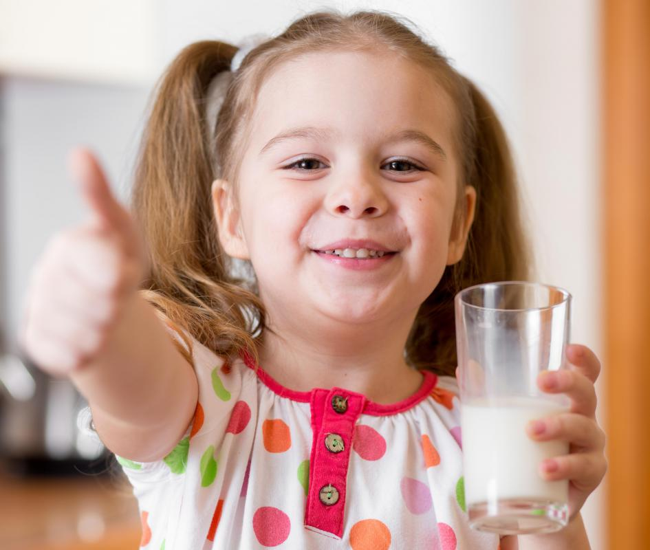 Malted milk is a good way for children to boost caloric intake and milk consumption.