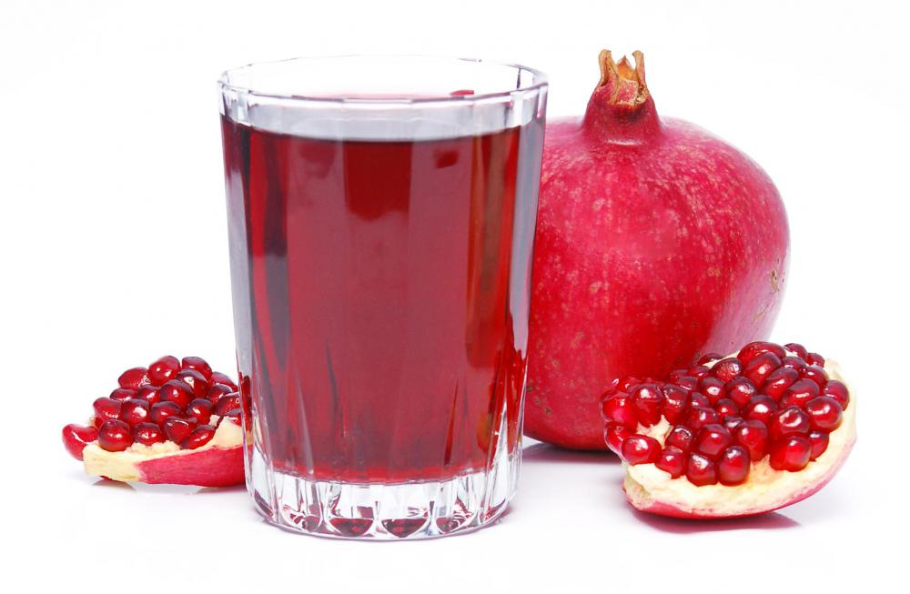 Pomegranate wine.