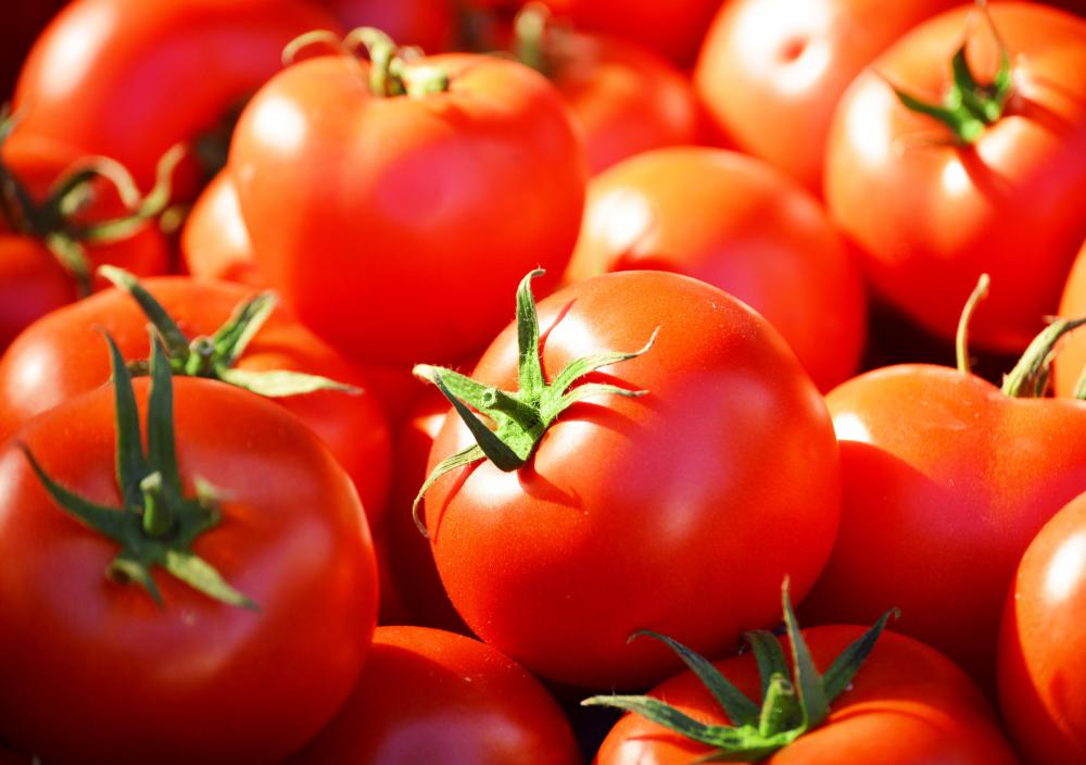 Tomatoes are naturally rich in lycopene.