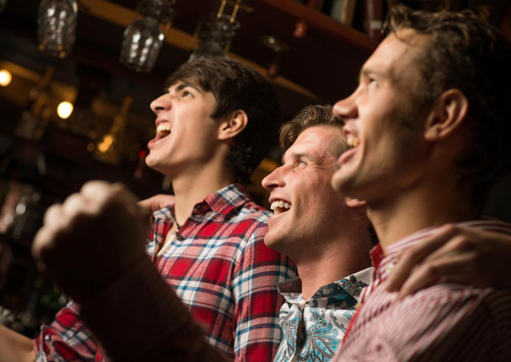Irish pubs might have soccer or rugby match viewing parties.