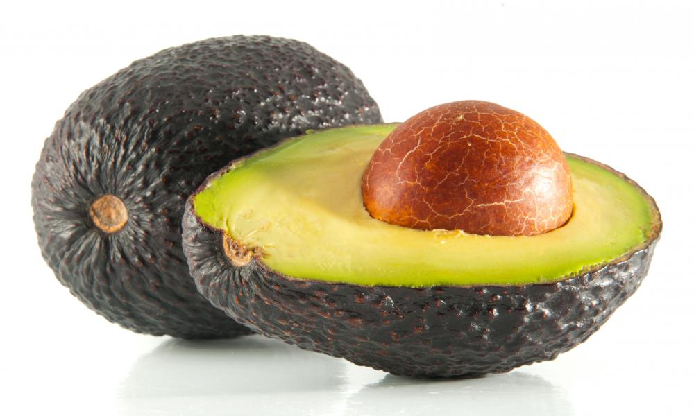 Avocados can be used to make cold pressed oil.