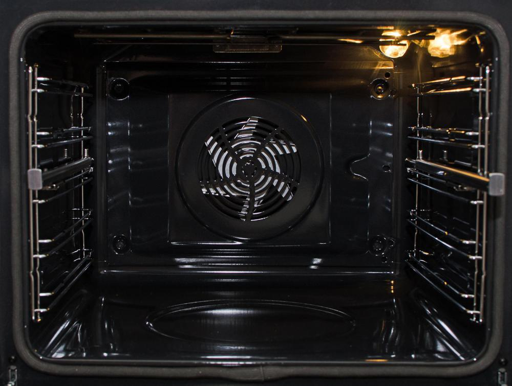 Some gas ovens have a fan to distribute heat throughout the oven, contributing to more consistent and faster cooking.