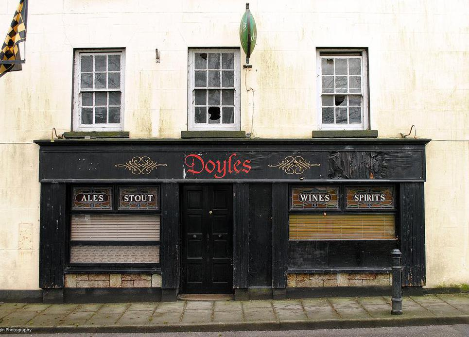Irish pubs often serve as meeting places within traditional communities.