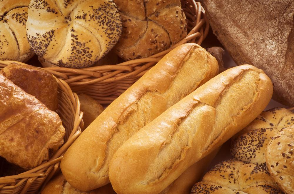 Italian bread can be made into a variety of differently-shaped loaves.