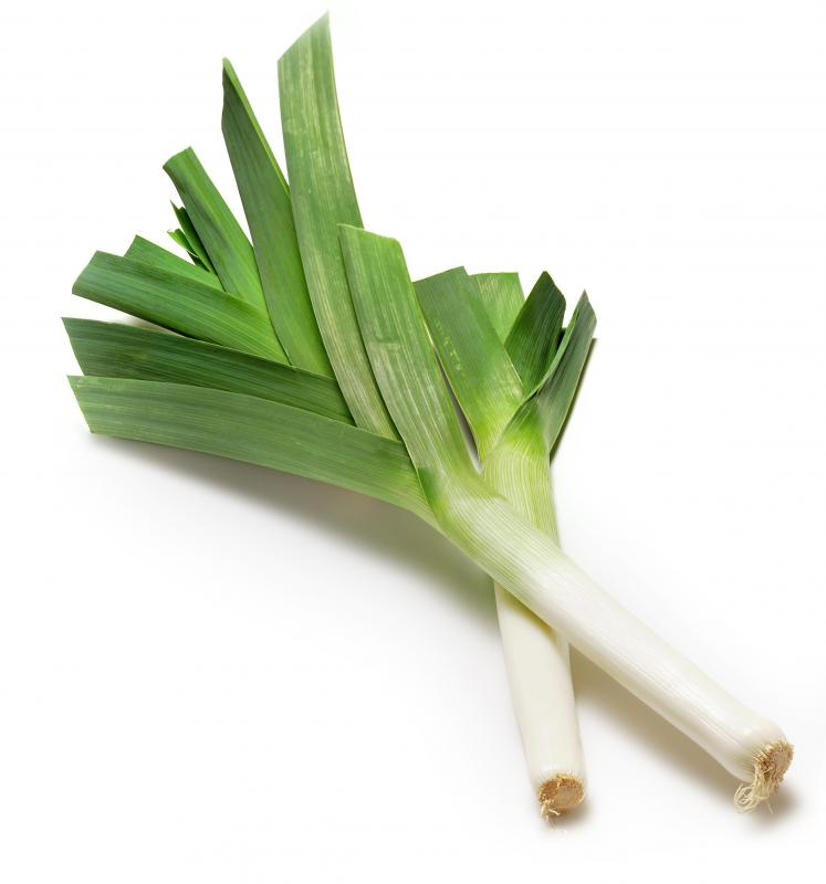 Leeks are a good substitute for onions, especially for people who cannot eat onions.