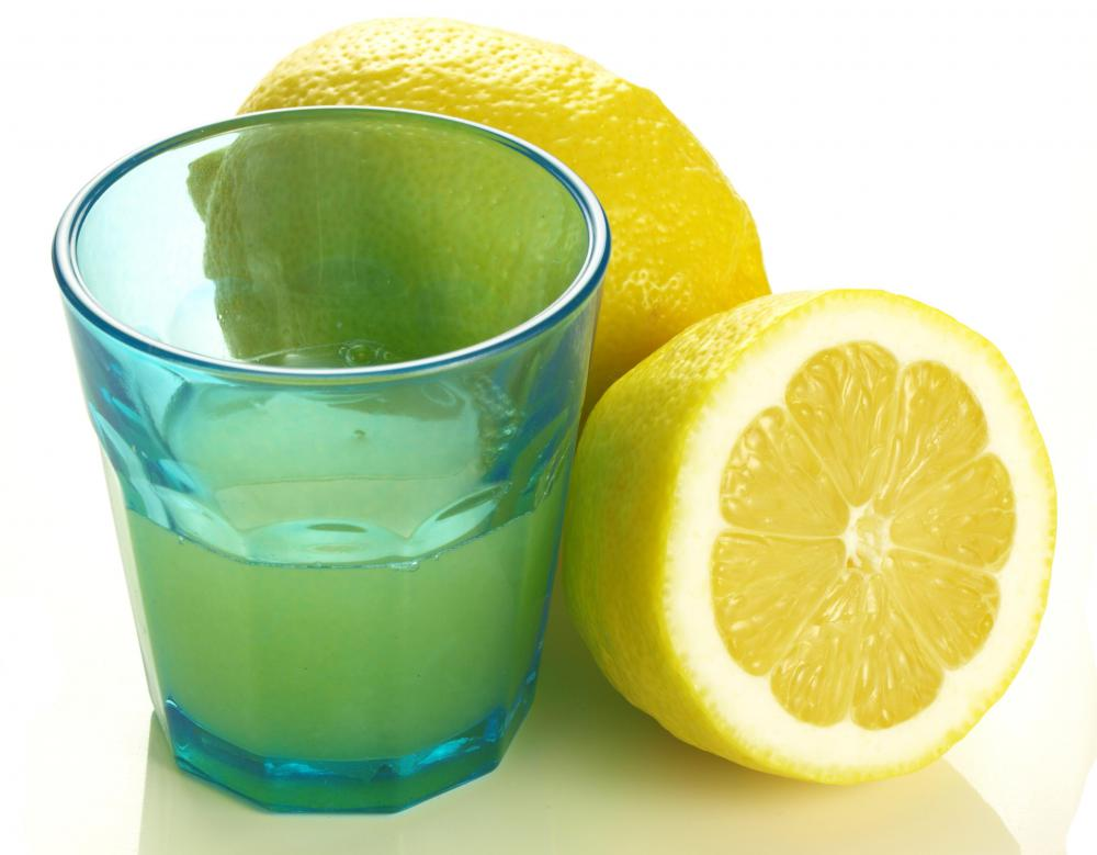 Fresh lemon juice is an ingredient in classic lemonade.