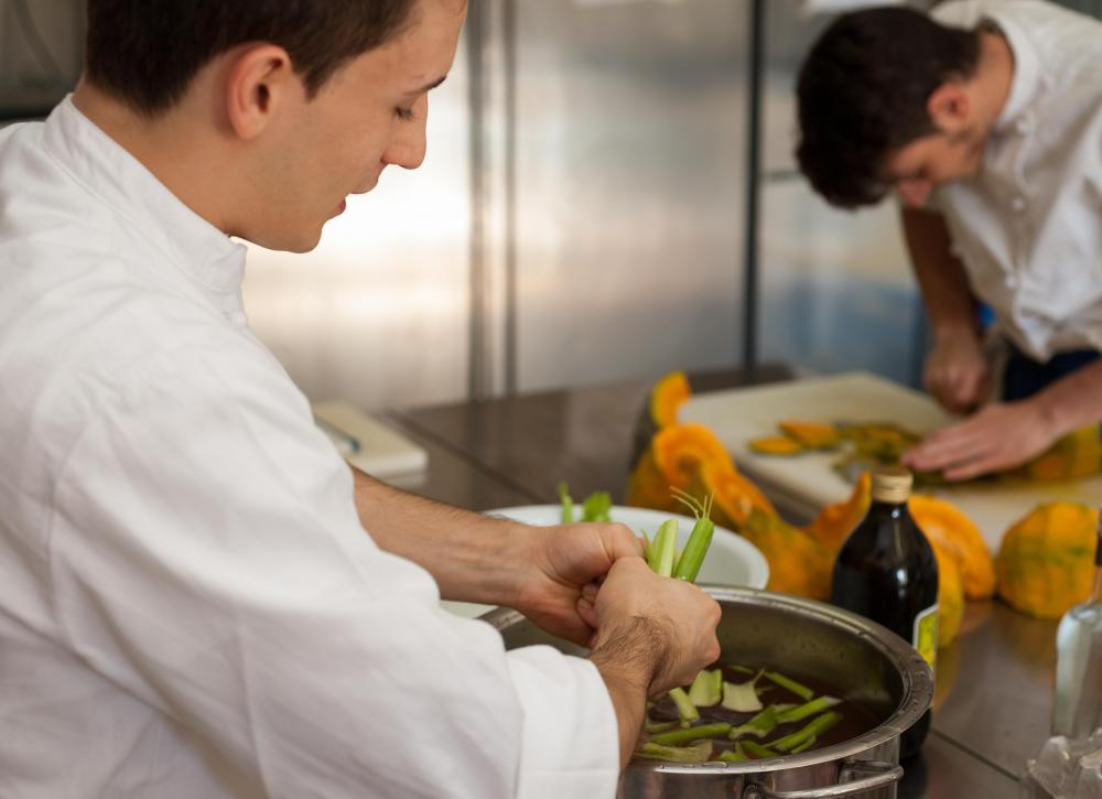 A line cook may be tested to evaluate how she or he performs under stress.