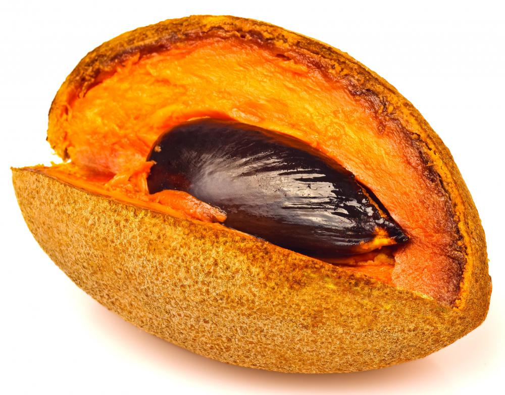 The mamey fruit is native to Central America.