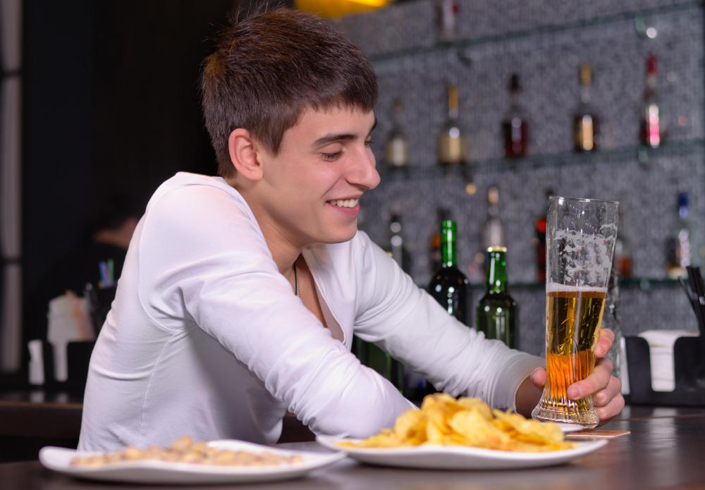Bars often offer counter service, which places them in the food service industry.